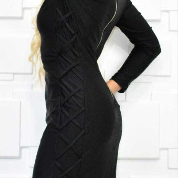 SASSY LITTLE BLACK DRESS - MODA ME COUTURE