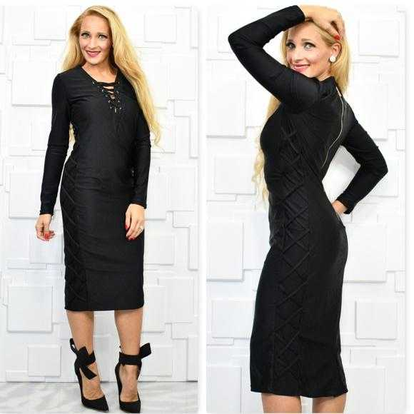 Sassy Little Black Dress-Dress-Moda Me Couture