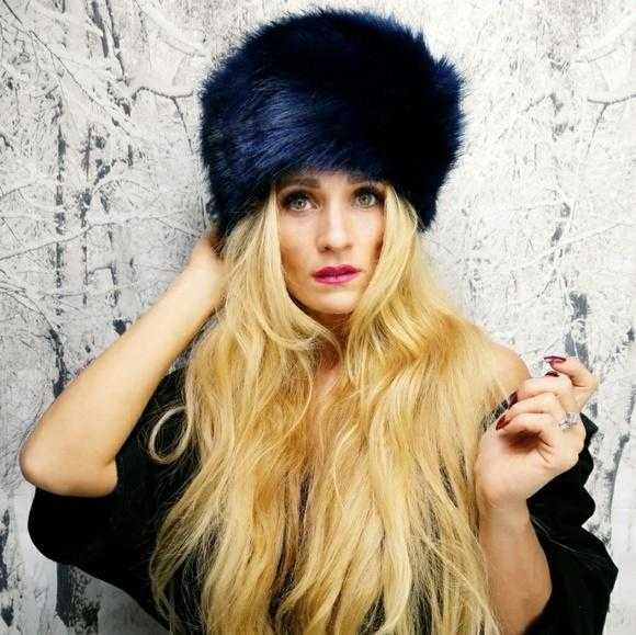 13ea85d23a31f ROYAL BLUE RUSSIAN FAUX FUR HAT | MODA ME COUTURE ...