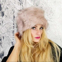 Russian Hat Pink-Accessories-Moda Me Couture