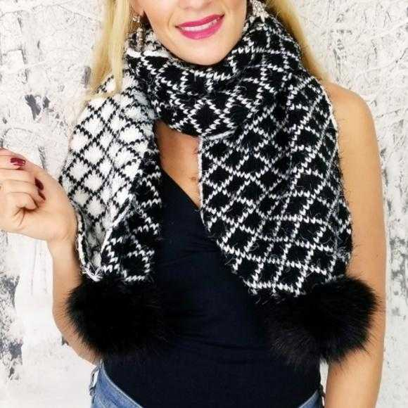 Ultra Soft Scarf Knitted-Accessories-Moda Me Couture