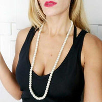Chic And Classy Strand Of Pearls-Jewelry-Moda Me Couture
