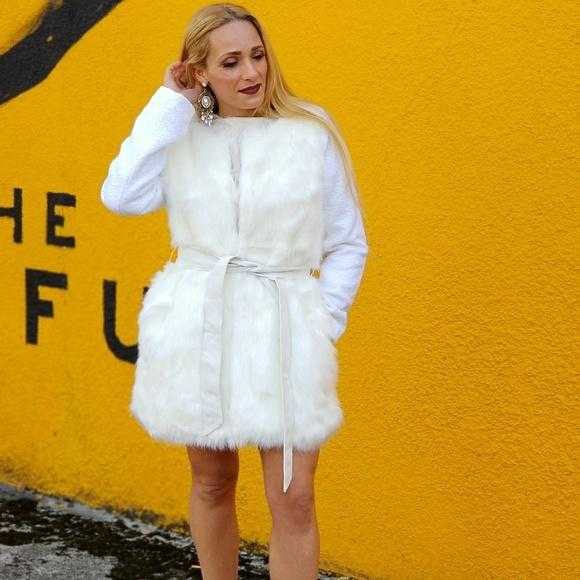 CREAM FAUX FUR COAT | MODA ME COUTURE