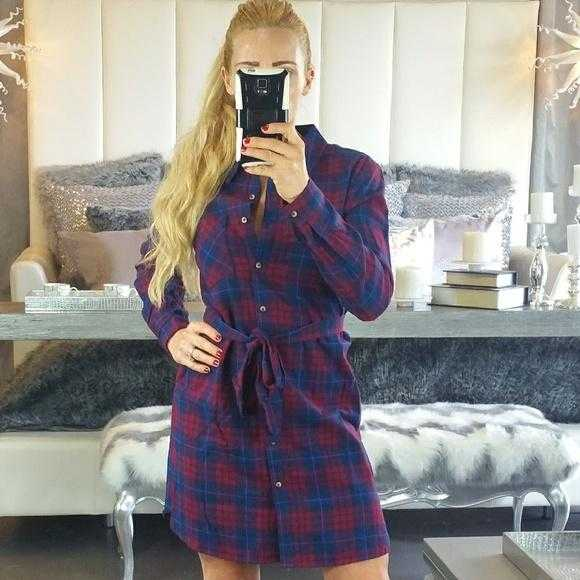 Bailey Plaid Print Dress-Dress-Moda Me Couture