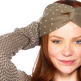 DETAILED BEIGE HEADBAND | MODA ME COUTURE