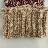 Knitted Headband Tan-Accessories-Moda Me Couture