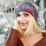 Multi Colored Knitted Headband-Accessories-Moda Me Couture