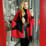 Double Sided Wrap-Sweater-Moda Me Couture