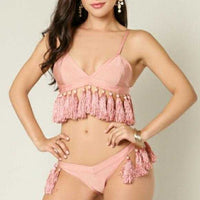 Pink Blush Bikini-Swim-Moda Me Couture