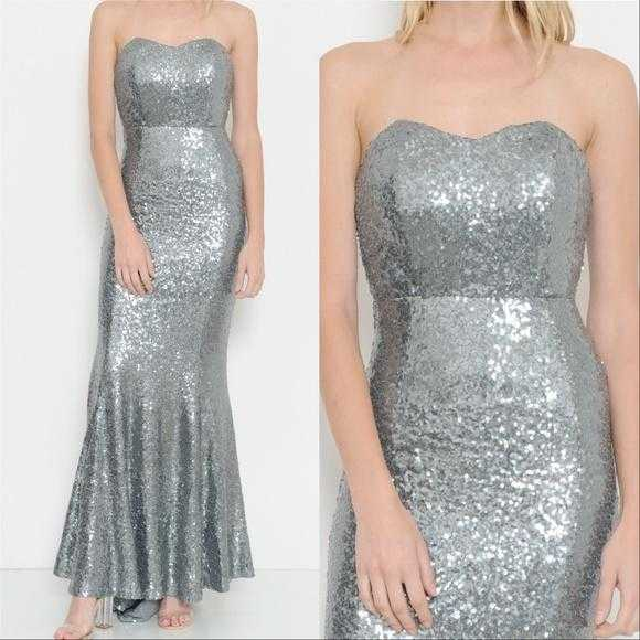 Sequin Gown Dress-Dress-Moda Me Couture ®