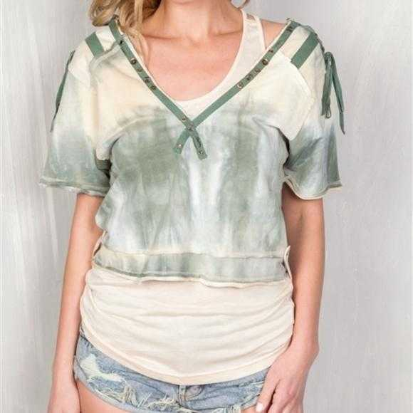 Tie Dye Bohemian Top 2 in 1 | MODA ME COUTURE