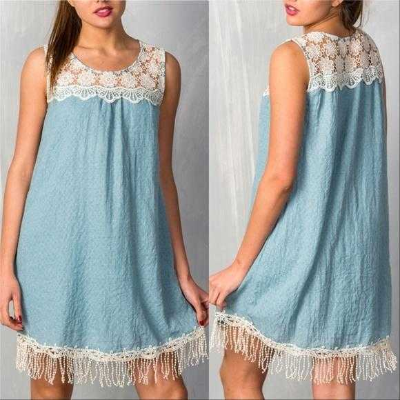 BOHO BEAUTY SEAFOAM DRESS