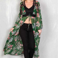 Floral Duster-Tops-Moda Me Couture