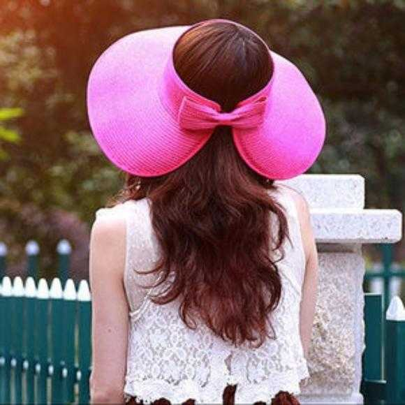 Pink Roll Up Floppy Hat-Accessories-Moda Me Couture