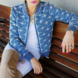 STATEMENT DENIM JACKET | MODA ME COUTURE