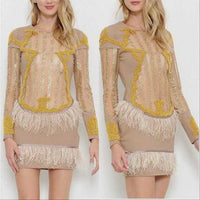 Jezebel Statement Dress-Dress-Moda Me Couture