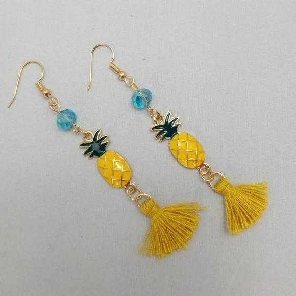Pineapple Earrings | MODA ME COUTURE