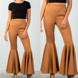 FLARE BELL BOTTOM PANTS | MODA ME COUTURE