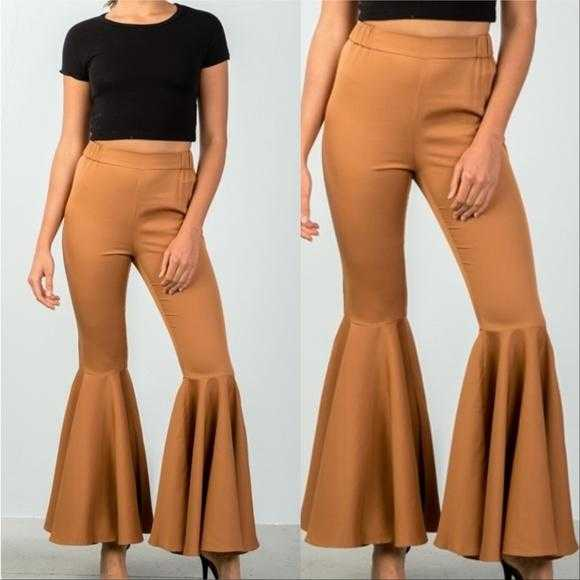Flare Bell Bottom Pants-Pants-Moda Me Couture