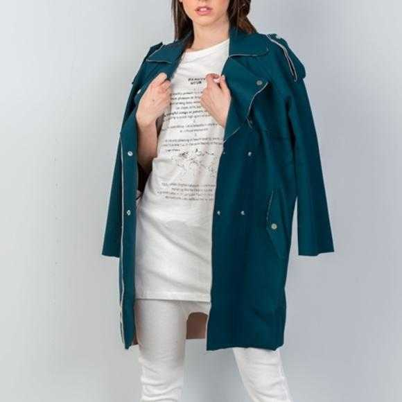 Modern teal Jacket | MODA ME COUTURE