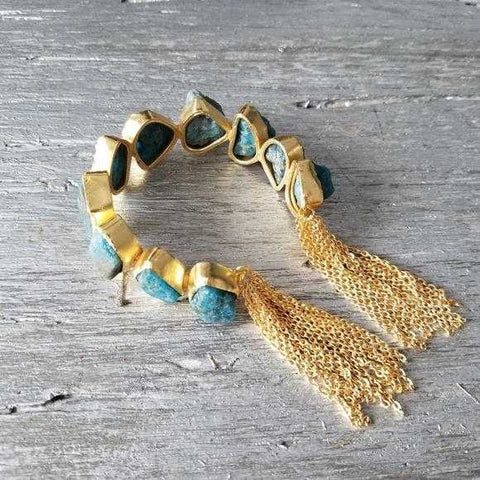 Handcrafted Cuff Bracelet - Couture Collection