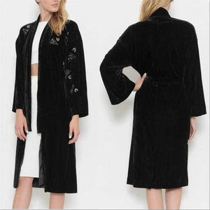 MONROE Soft & luxurious Velvet robe