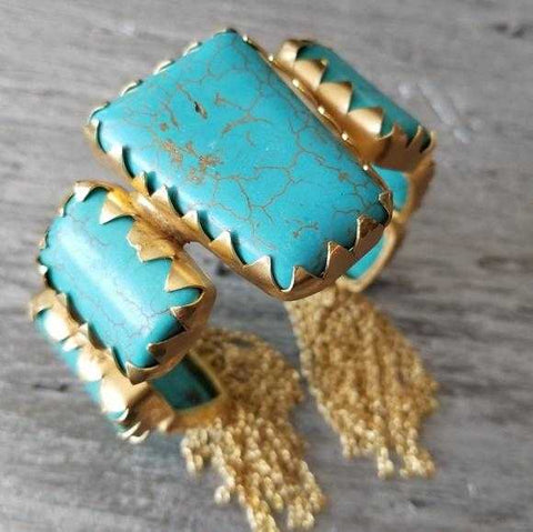 COUTURE COLLECTION TURQUOISE CUFF