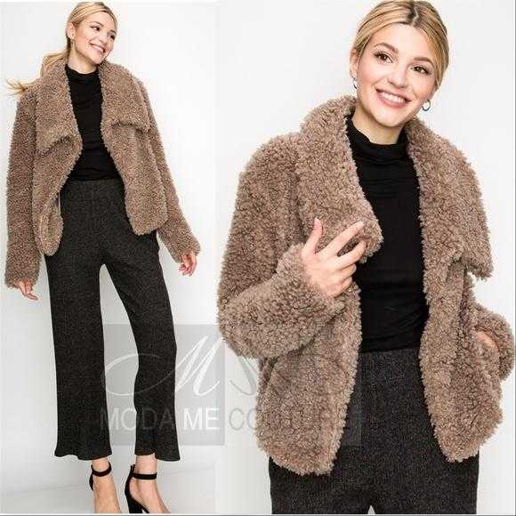 Angie Faux Fur Coat-Jackets & Coats-Moda Me Couture
