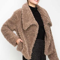 Angie Faux Fur Coat | MODA ME COUTURE