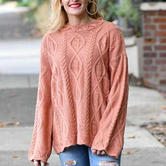 GRACE Cable Knit Sweater | MODA ME COUTURE