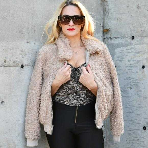 Acadia - Tan Faux Fur Coat | MODA ME COUTURE