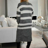So Soft Comfy Cardigan - Gray-Sweater-Moda Me Couture