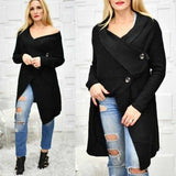 Black Cardigan-Sweater-Moda Me Couture