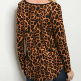 Animal Print Top | MODA ME COUTURE