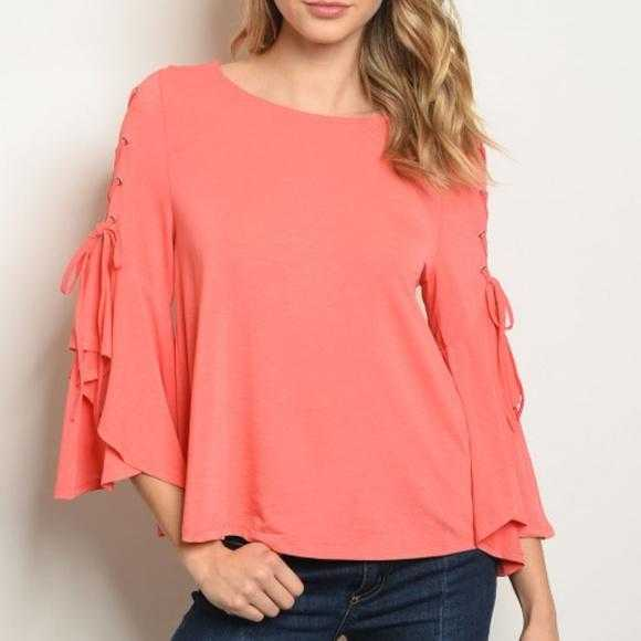 Peach Paradise Tunic Top-Tops-Moda Me Couture