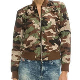 Camo Jacket-Jackets & Coats-Moda Me Couture