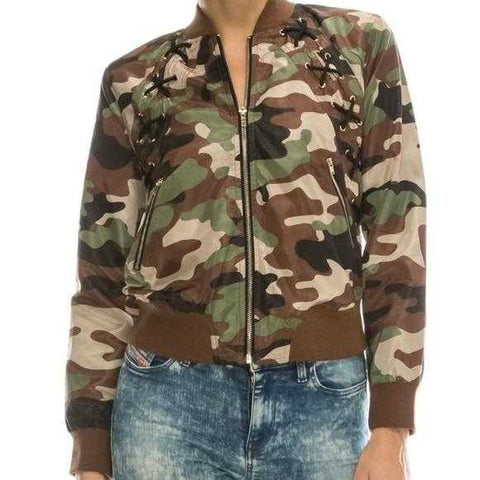 Camo Jacket | MODA ME COUTURE