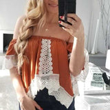 Boho Beauty Off Shoulder Top-Tops-Moda Me Couture