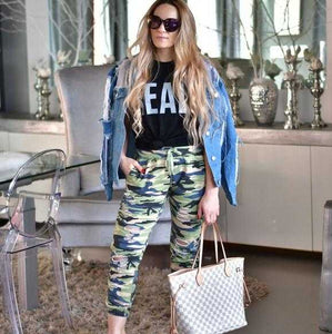 CAMOUFLAGE JOGGERS | MODA ME COUTURE