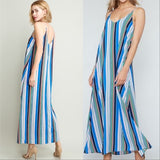 Vacation Vibes Maxi Dress-Dress-Moda Me Couture