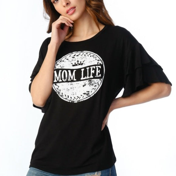 Mom Life Top-Tops-Moda Me Couture ®