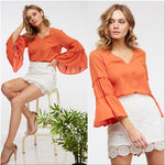 FIESTA Flared Sleeved Blouse