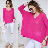 Pink Knit Tunic Top-Tops-Moda Me Couture