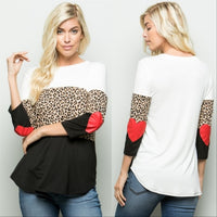 Top Leopard Print-Tops-Moda Me Couture