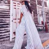 Lavendar Striped Pants