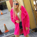 Barbie Faux Fur Coat