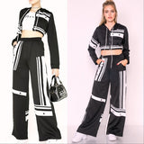Two Piece Jogger Set-Pants-Moda Me Couture
