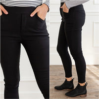 Stay Warm Fleeced Lined Pants-Pants-Moda Me Couture