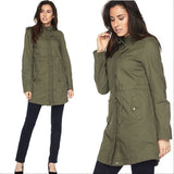 Anorak Jacket - Green-Jackets & Coats-Moda Me Couture