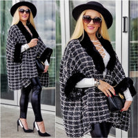 CHANTELLA Tweed Cape